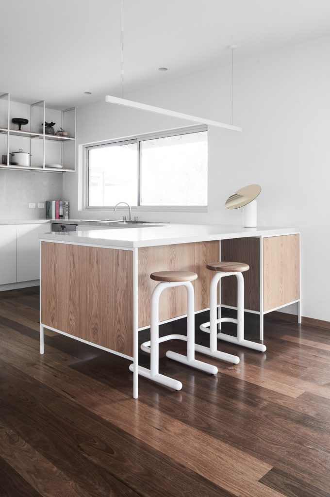 island bench 680x1024 Northcote House Renovation By Winwood Mckenzie Architecture