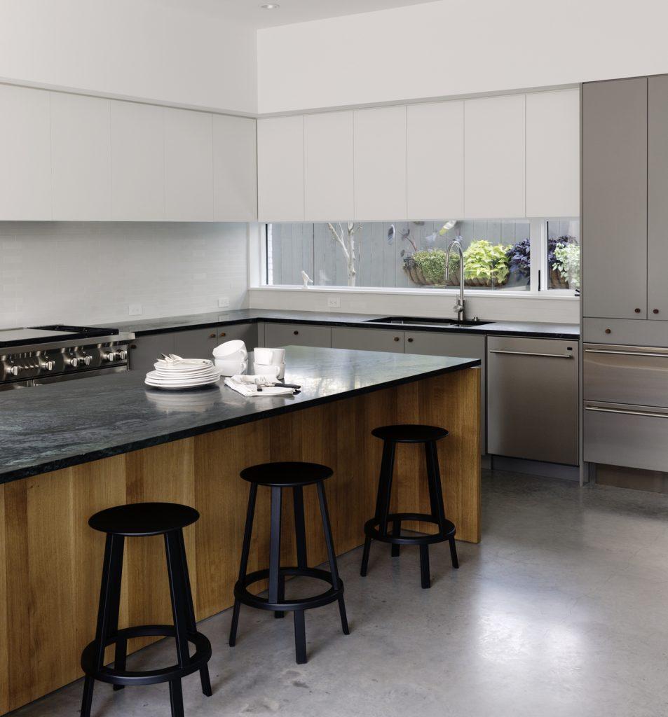 kitchen 953x1024 Family Headquarters by Viviano Viviano architecture