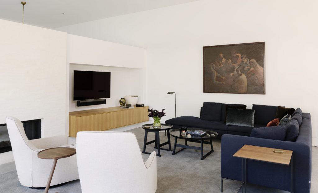 living room 2 1024x620 Family Headquarters by Viviano Viviano architecture