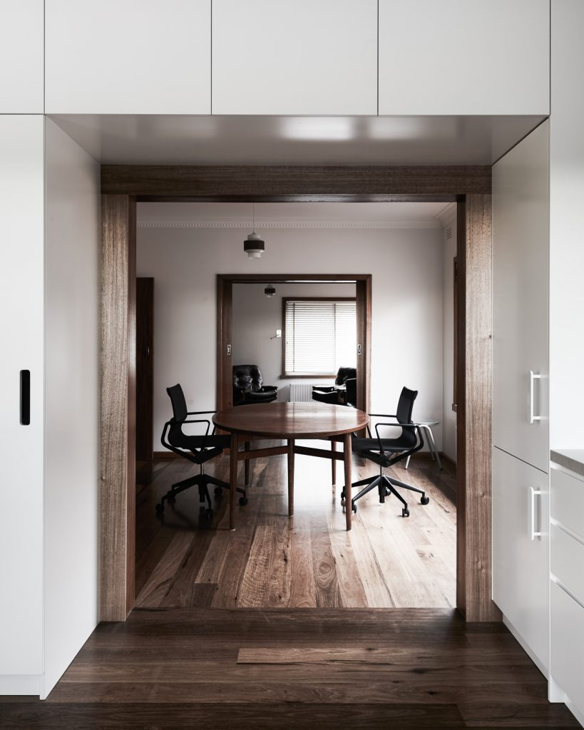 living spaces 819x1024 Northcote House Renovation By Winwood Mckenzie Architecture