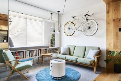 Tiny Studio Apartment Renovation By Tsai Design