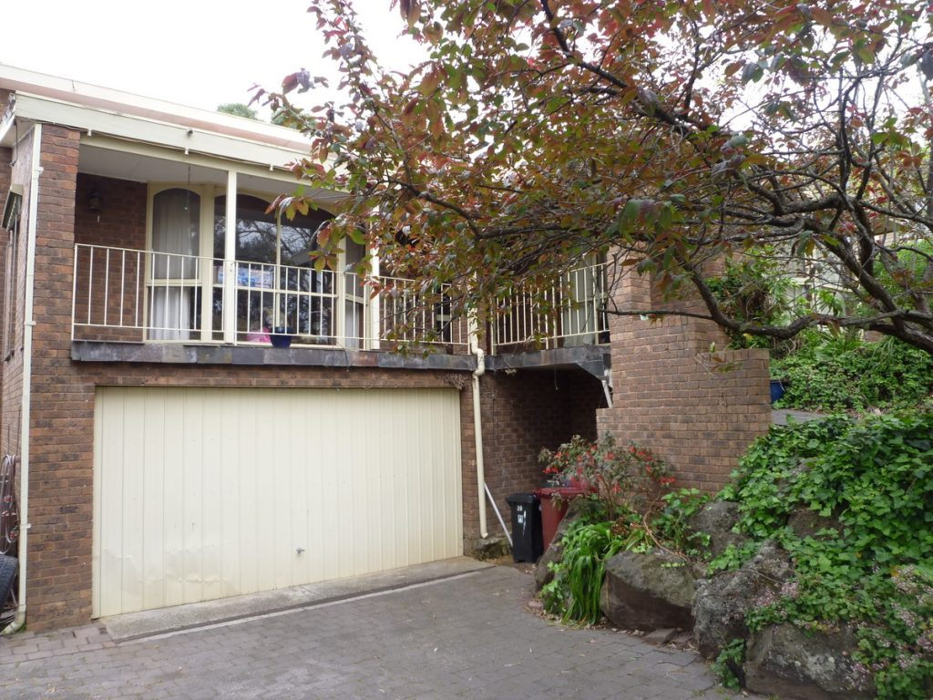 before 2 1024x768 A Complete Renovation Of A 1970s Double Brick Family Home