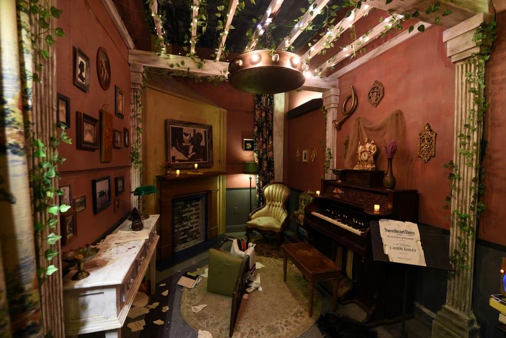 escape room interior Unusual Interior Designs To Take Inspiration From