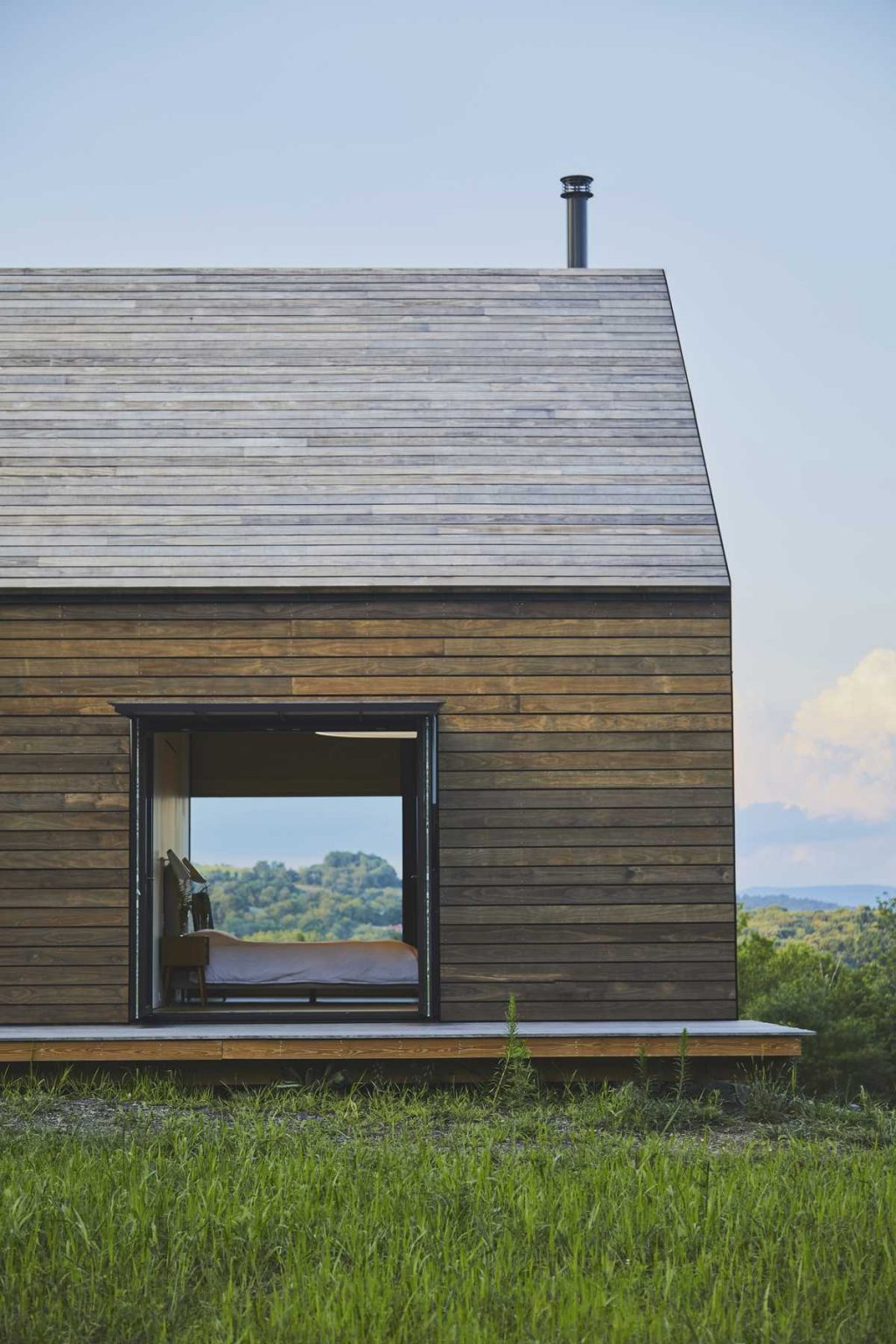 A modern take on the historic barns of the Hudson River Valley