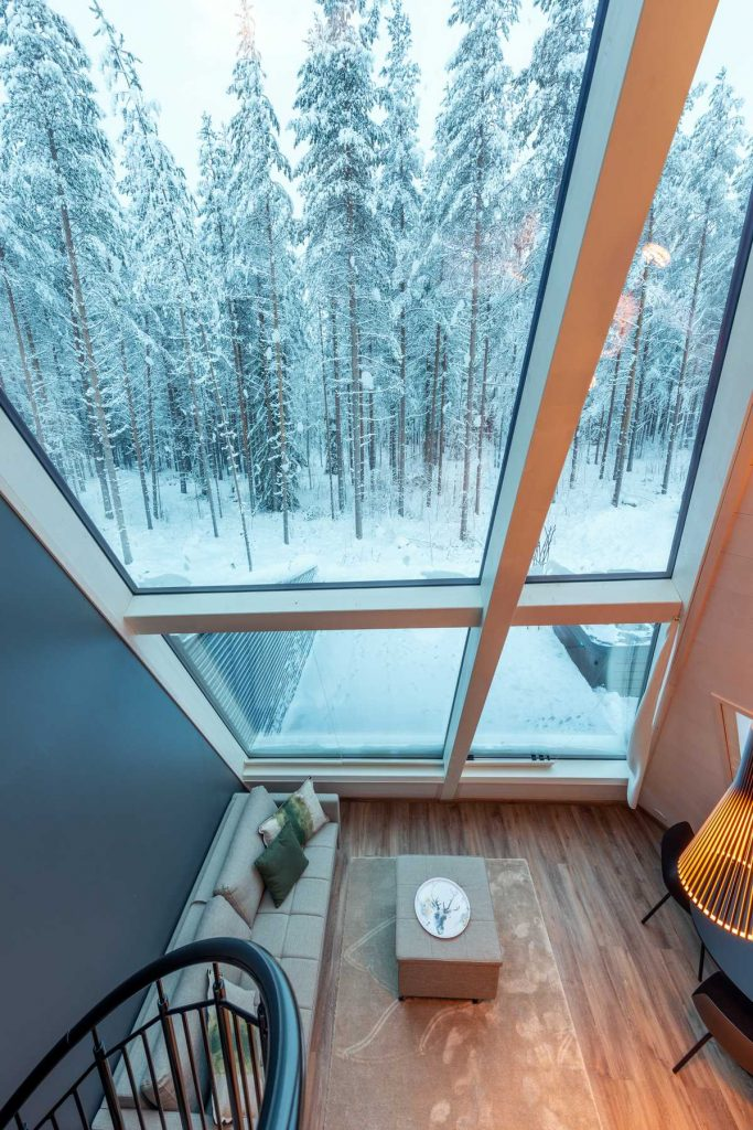 %name Glass Resort In Rovaniemi, Lapland By VOID Architecture