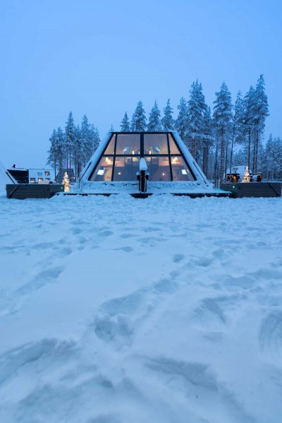 Glass Resort In Rovaniemi, Lapland By VOID Architecture
