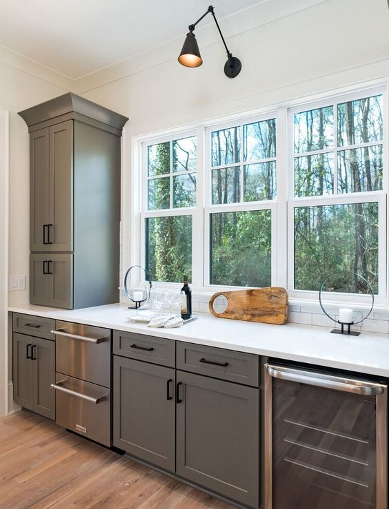 matte cabinets Our Favorite Kitchen Trends of 2019