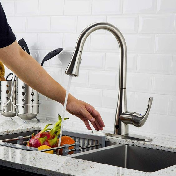 touchless kitchen faucet Our Favorite Kitchen Trends of 2019