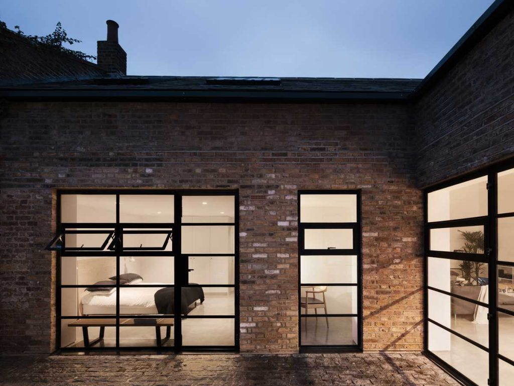 %name Dilapidated warehouse conversion into a light filled house