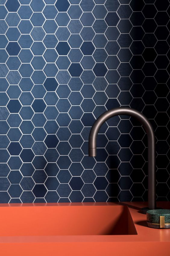 hexa navy porcelain mosaic tiles Things You Should Know About Porcelain Tiles