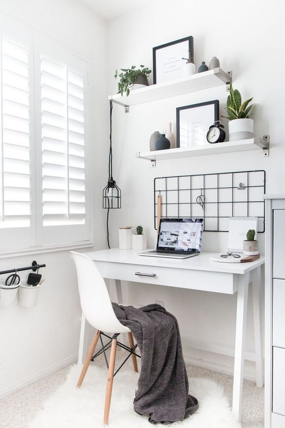 minimalist workspace How To Design The Perfect Office For Your Home