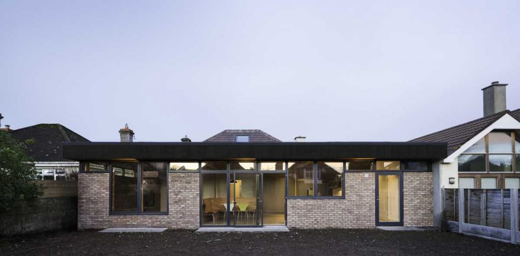 A renovation and extension of a 1940's bungalow in Dublin