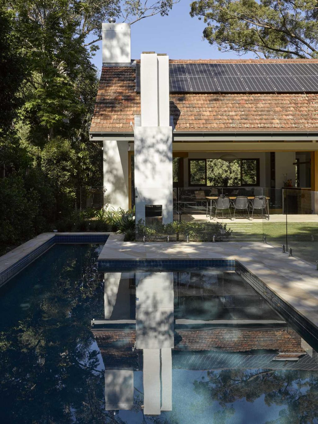 Terracotta Tiled Roof House Renovation By Shane Thompson Architects