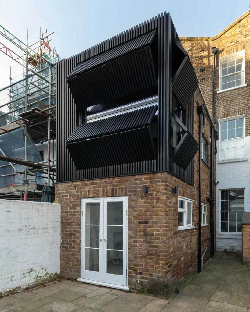 %name Black Box   a small extension to a mid terrace Victorian era house