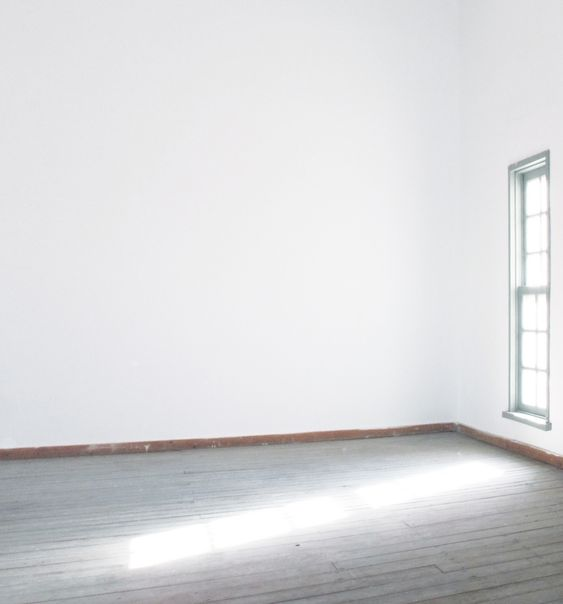 empty white room What People don't tell you about Moving House