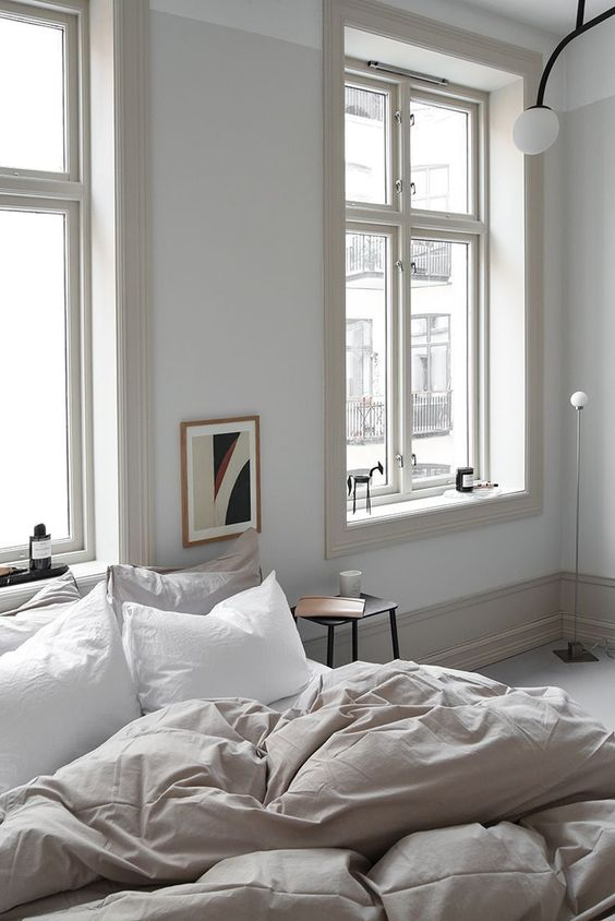 minimalist painted walls How to Turn Your Bedroom into A Safe Haven