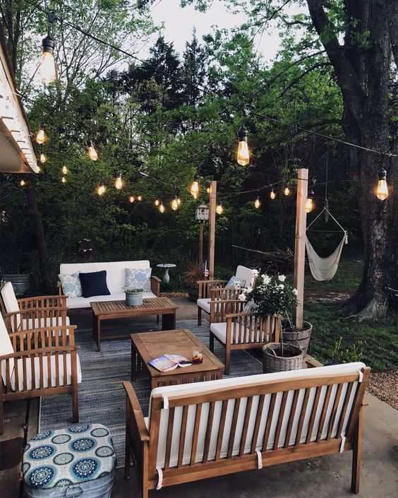 trendy garden lighting patio Things To Consider When Choosing Patio Furniture