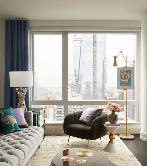 unique design accessories Tips On How To Decorate The Interior Of A High Rise Apartment