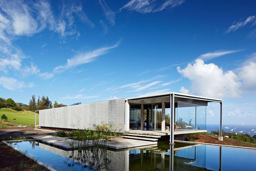 modern minimalist hawaiian house Living Solutions For Those Who Love The Sun