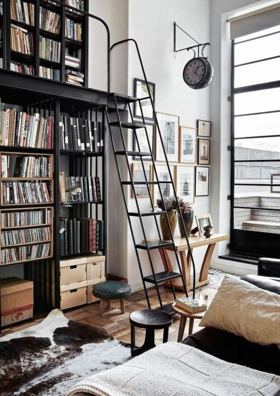vertical storage unit How to Make the Most of High Ceilings