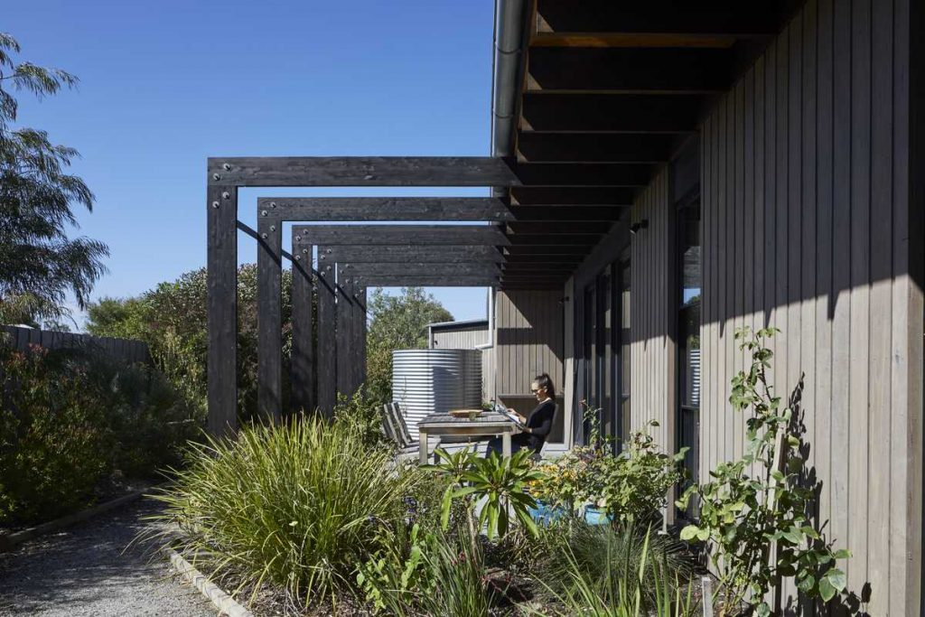 %name House for a retired couple by Andrew Child Architecture
