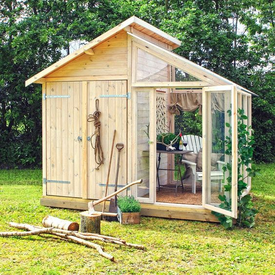 wooden garden shed How to Repurpose Your Garden Space in 2020