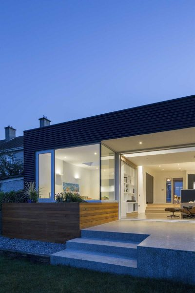 Renovation and extension of a 1970's semidetached house