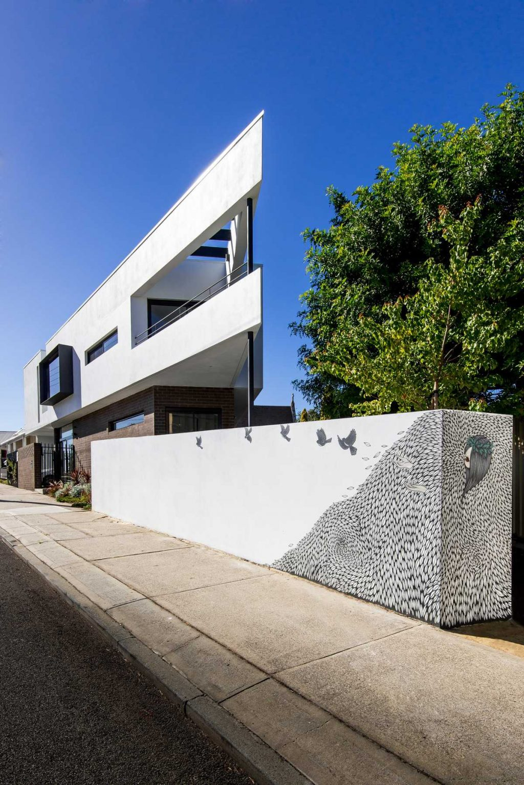 The Triangle House by Robeson Architects