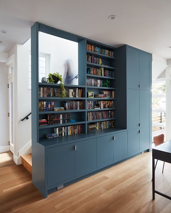bookshelf storage How to Transform Your Home into a Relaxing Place