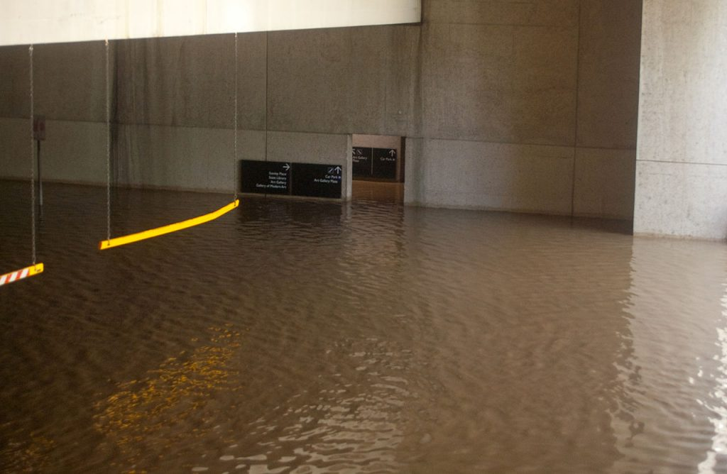 flooded car park 1024x668 How To Prevent Basement Flooding