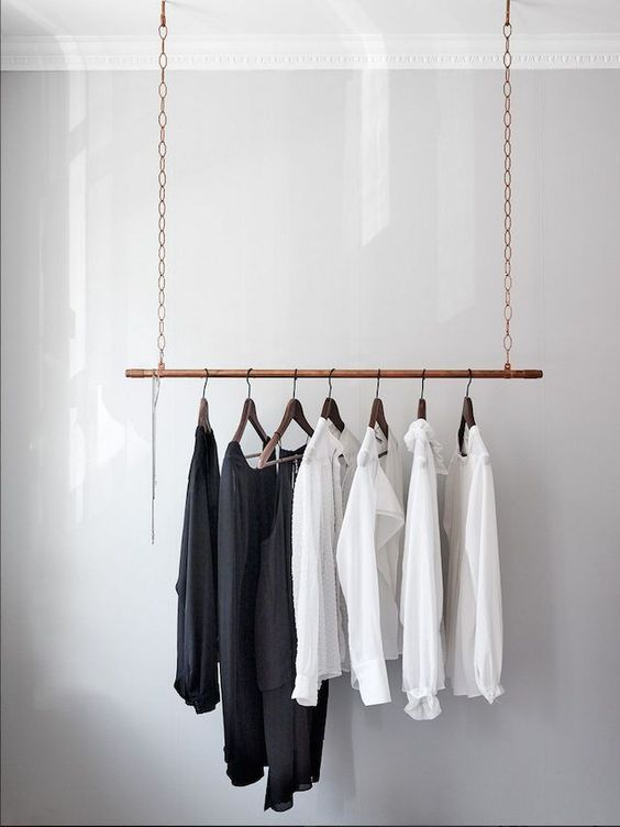minimalist hanger Top 5 Tips to Organize Your Home
