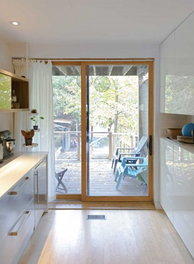 A renovated designer's house in Toronto