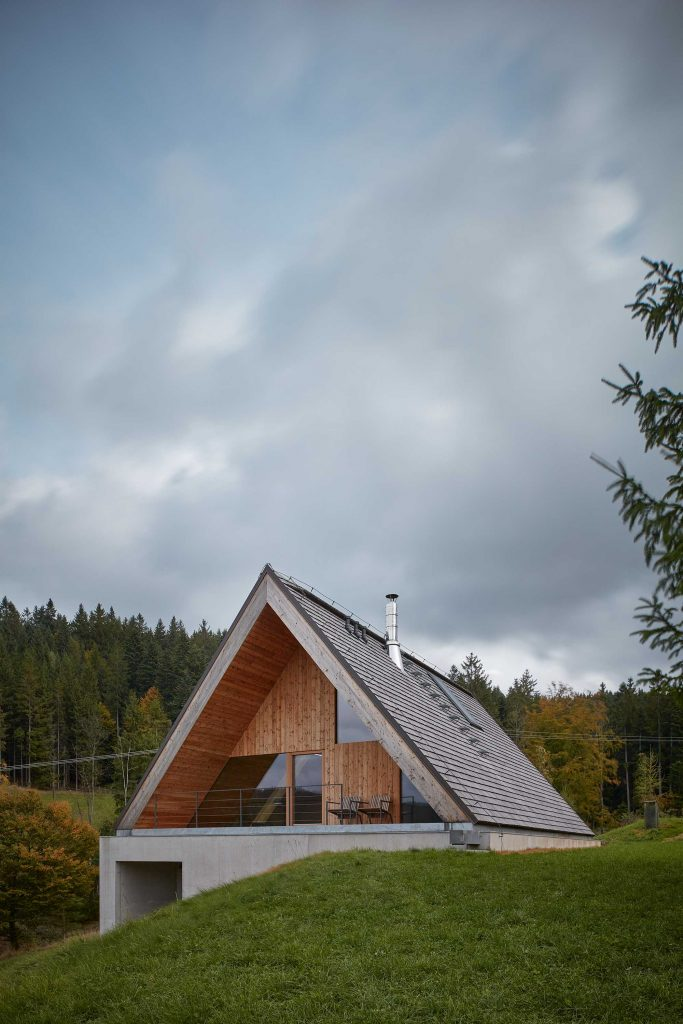 %name Weekend House in Beskydy by Pavel Míček Architects