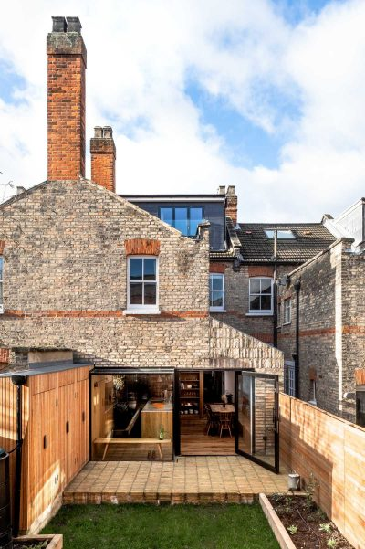 A Spacious Kitchen Side Extension by Bradley Van Der Straeten Architects