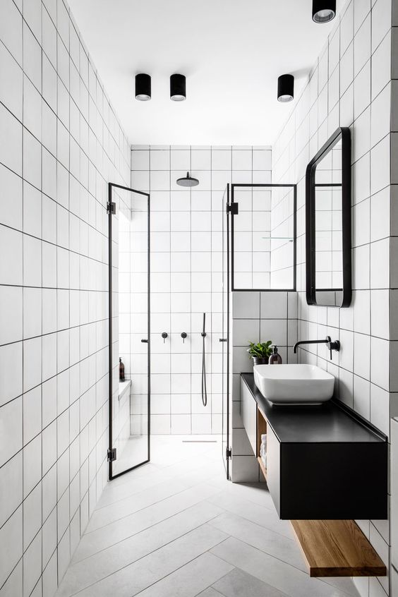 monochromatic bathroom How to Increase the Functionality of Your Investment Property