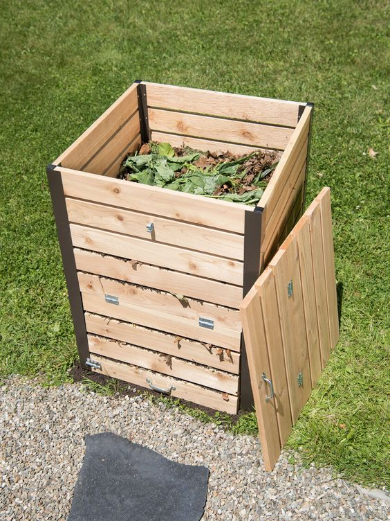 cedar compost bin 5 ways we can all make our homes more efficient