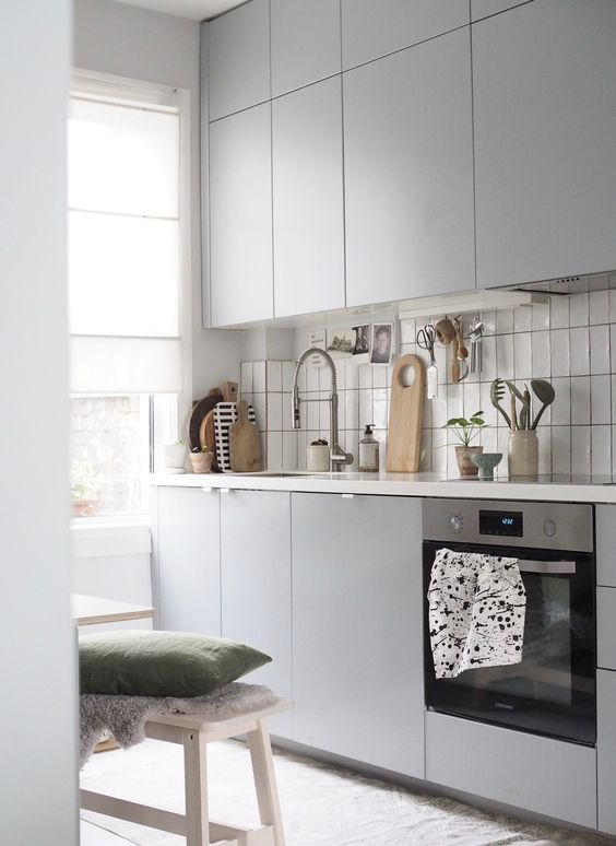 clean and minimalist kitchen Tips for Improving Your House   Including Double Glazing Windows