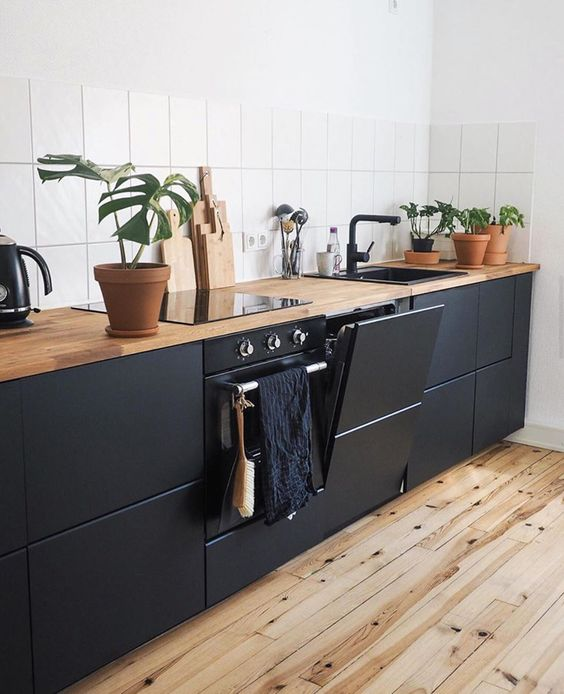 black and white These 40+ Kitchen Decor Ideas Will Inspire You To Renovate Yours
