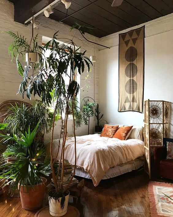 bohemian aesthetic bedroom 50+ Aesthetic Bedrooms And 9 Tips On How To Decorate Yours