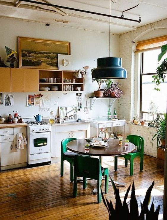 bohemian chic kitchen These 40+ Kitchen Decor Ideas Will Inspire You To Renovate Yours