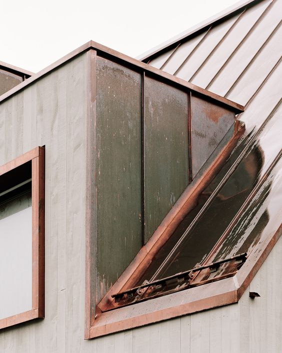 copper roofing Residential Roofing Design Trends