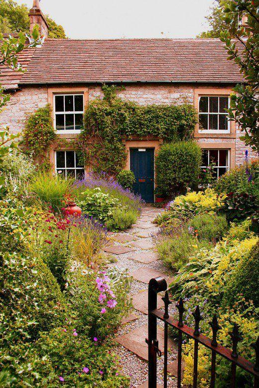 english country garden walkway English Cottage Garden Design Tips