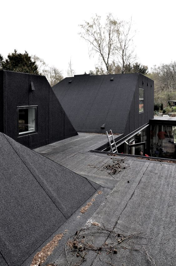 flat roofing Residential Roofing Design Trends
