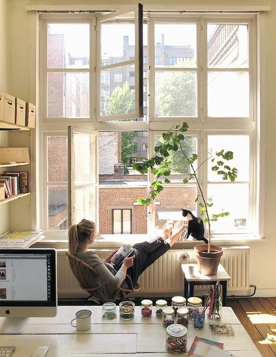 keep your windows open Can Optimal Indoor Quality Boost Your Productivity at Home?
