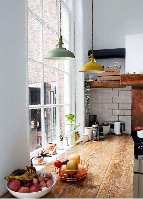 led pendant lights These 40+ Kitchen Decor Ideas Will Inspire You To Renovate Yours