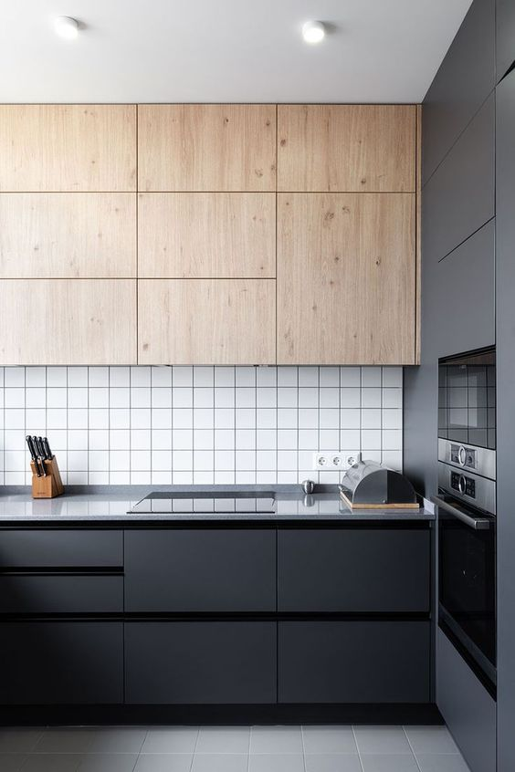 modern black 4 Things to Consider When Designing Your Kitchen