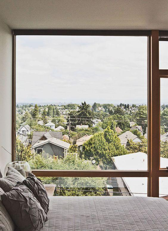 modern home with view of seattle from the bedroom These Bedroom Blunders May be Disrupting Your Sleep
