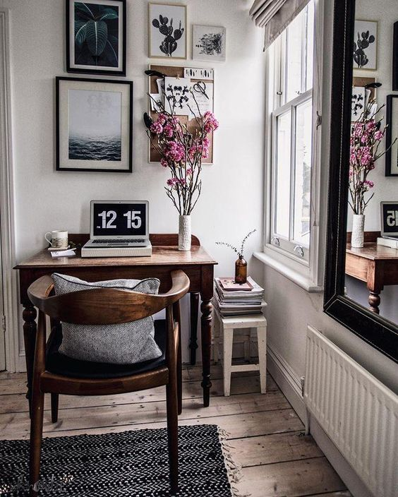 nordic style home office Las Vegas Living: Tips to Turn Your Spare Room into an Office