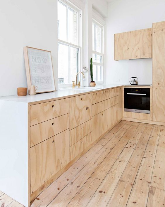 plywood decor These 40+ Kitchen Decor Ideas Will Inspire You To Renovate Yours