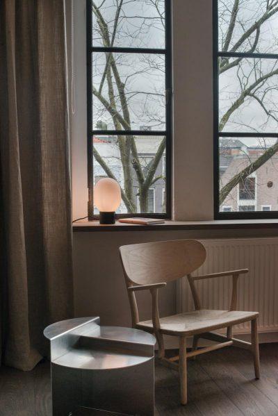 Nordic style apartment by architect Jurjen Van Hulzen